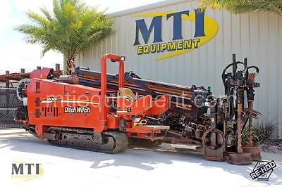 2008 DITCH WITCH JT4020 Mach 1 Horizontal Directional Drill - MTI Equipment