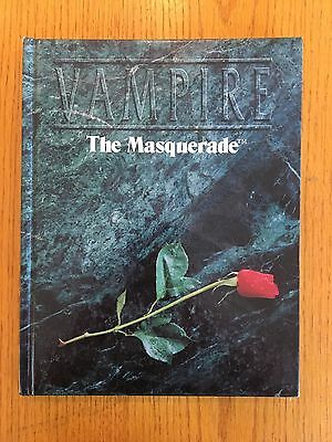 Vampire The Masquerade RPG Core Rulebook - White Wolf