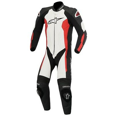 Alpinestar Alpinestars Challenger Leather 1 One Piece Suit - Black White Red