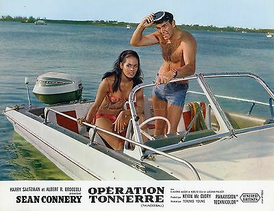James Bond 007 Sean Connery Martine Beswick Thunderball 1965 Lobby Card #6