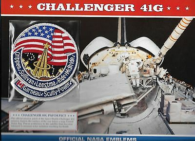Willabee & Ward Official Space Patch  Challenger 41G