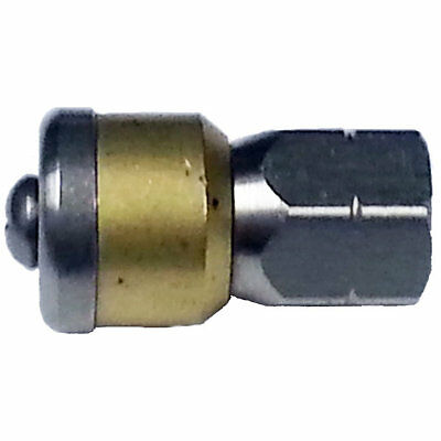 """MTM Hydro 17.0020 Rotating Sewer Nozzle 3x.08mm - 045 1/8"""" SS/Brass"""
