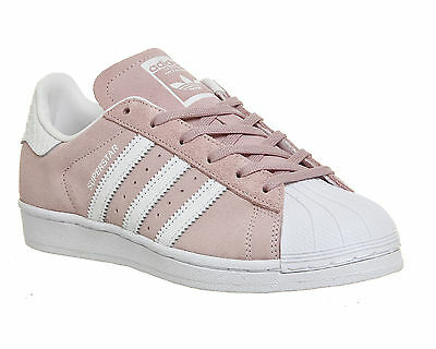 Mens Adidas Superstar 1 PINK WHITE SNAKE Trainers Shoes