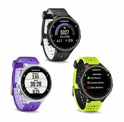Garmin Forerunner 230 GPS Running Watch with Smart Features HRM 010-03717
