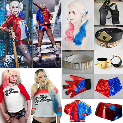 Suicide squad Harley quinn Daddy 's Lil monstre fête Halloween Cosplay Costumes