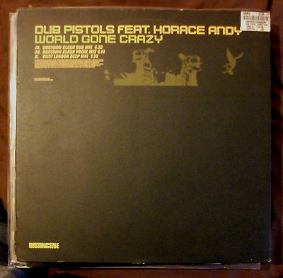 Dub Pistols & Horace Andy - World Gone Crazy - VG+