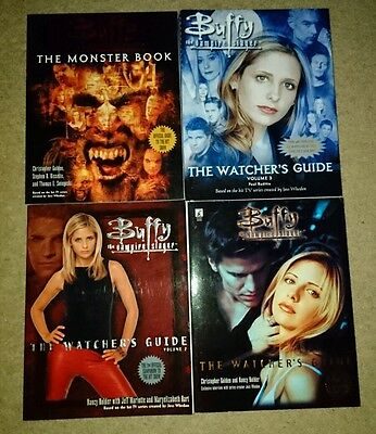 Buffy the Vampire Slayer Reference Books