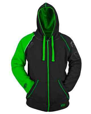Speed And Strength Ss Mens Green Black United Speed Armored Hoody Ce M Lx L 2X
