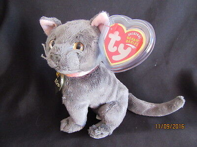 Nwt Ty Beanie Baby Arlene The Grey Cat