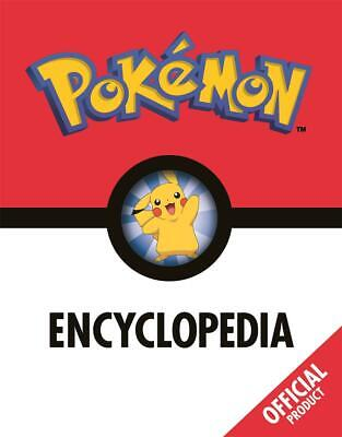 The Pokemon Encyclopedia: Official by Pokemon Hardcover Book Free Shipping!