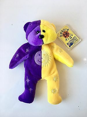 Beanie Kids - TWILIGHT The Night & Day Bear - RARE - Tag in mint condition