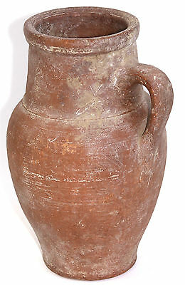 19th Century Reproduction Roman Antiquity Pottery Earthenware Single Handled Jug