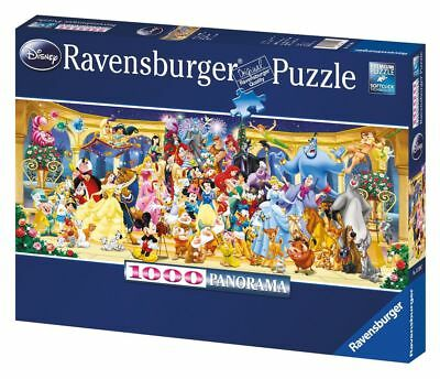 Disney Characters Panoramic Puzzle 1000 pieces - Ravensburger