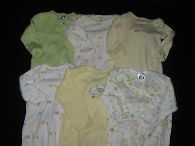 Baby Girl or Boy Unisex NB 0-3 Months Gowns Sleepwear Lot #FTC8