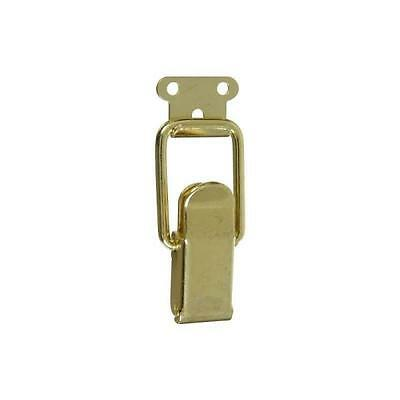 New National Hardware N208-561 Pack (2) Brass Plated Draw Catches 7161383