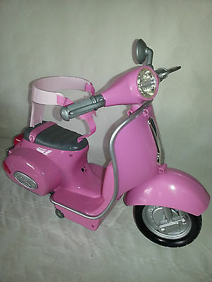 Baby Born Doll Replacement Motorcycle Toy - Pink - No Remote - Free Post