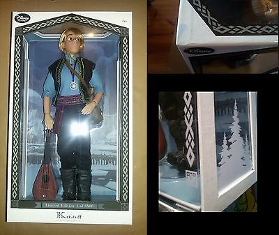 "DISNEY STORE Kristoff limited edition doll Frozen LE 17"" - Bambola"