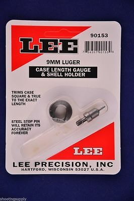 Lee Case Length Gauge & Shell Holder 9mm Luger 9x19mm Nato #90153