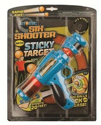 Hog Wild Atomic Six Shooter with Sticky Target