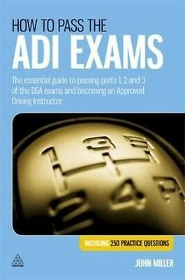 How to Pass the ADI Exams by John Miller Paperback Book (English)