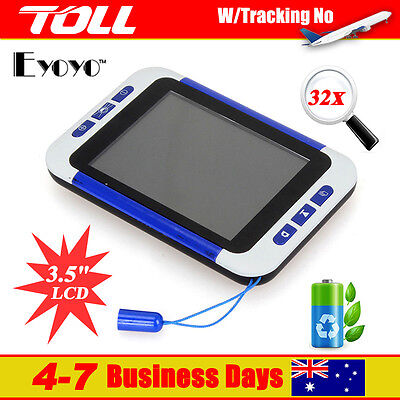 """3.5"""" LCD Portable Electronic HD Reading Digital Magnifier Eyesight-Aiding TOLL"""