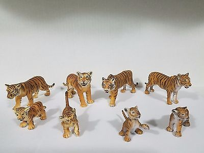 Schleich Lot of 8 Bengal tiger