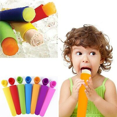 Popsicle Mold Mould Jelly Silicone Children Ice Pop Ice Cream Kitchen