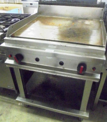 Angelo Po Gas Griddle - Smooth Plate Professional