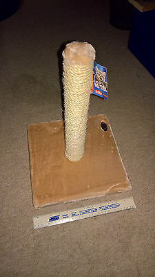 Nobby Classic1 Cat Scratcher  - Beige - 31cm square base x 40cm tall