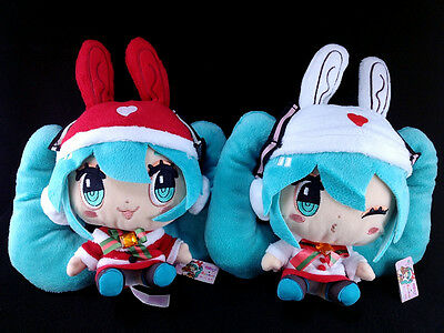 Hatsune Miku × CuteRody Christmas ver. Plush Doll set of 2 Taito Vocaloid