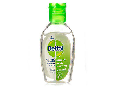 Dettol Instant Hand Sanitizer Original 50ml Kills 99.9 % of Germs without Water