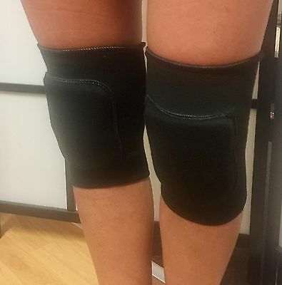 Dance Knee Pads - Black Adult Small ! Great Fitting