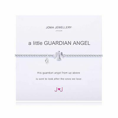 A Little Guardian Angel Bracelet - Silver Plated Joma Jewellery with Gift Bag