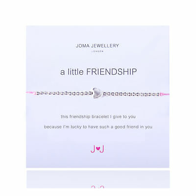 A Little Friendship Bracelet - Silver Plated Joma Jewellery with Gift Bag