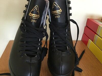 Glacier Jackson ice skating boots size 2 and accessories