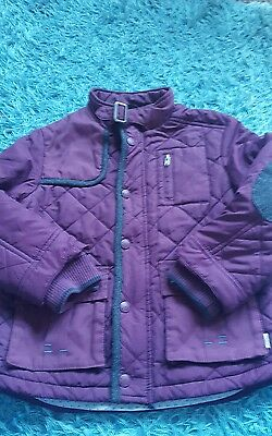 Girls Baker by Ted Baker Quilted Coat Jacket Age 7