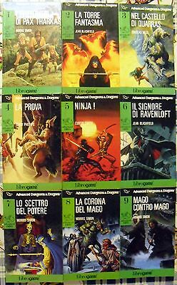 Advanced D&D Librogame set lotto fantasy Dungeons & Dragons metà SERIE COMPLETA