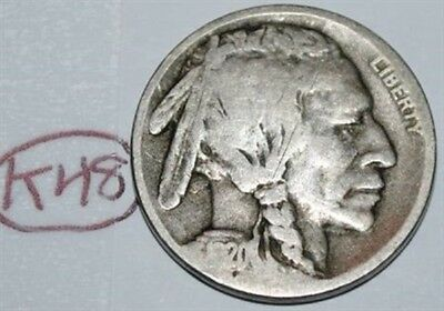 United States 1920 D Buffalo Nickel USA Indian 5 Cents Coin Lot #K48