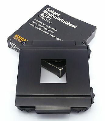 Kaiser Fototechnik 4371 Negative Carrier for Slides 5x5cm Free UK P&P!