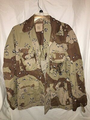 USMC / Marines - Desert Storm Chocolate Chip BDU Jacket - Small Regular - 1983