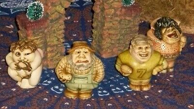 lot of 4 Pot Bellys Harmony Kingdom Collectibles