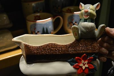 Disney Holiday/Christmas Dairy Creamer featuring Thumper from Bambi