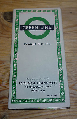 London Transport Green Line Coach Routes August 1956 (111)