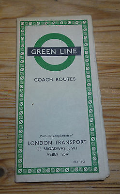 London Transport Green Line Coach Routes May 1957 (114)