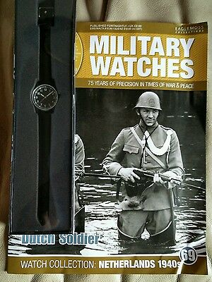 Eaglemoss Military Watches - Dutch Soldier Collection No 69 - New
