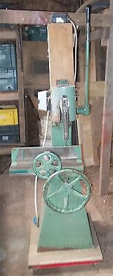Sedgwick Single Phase Chain Morticer Working Order