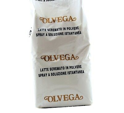 Latte in Polvere Magro Scremato Olvega Senza Glutine Made in Italy - 1Kg OFFERTA