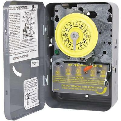 Intermatic Mechanical 40-Amp 240V DPST Water Heater Timer