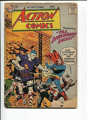 Action Comics 226 Fr+  Boring Mooney Purcell  1957