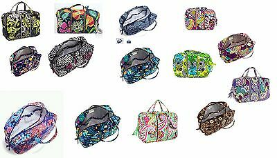Vera Bradley Grand Cosmetic Case Multiple Patterns